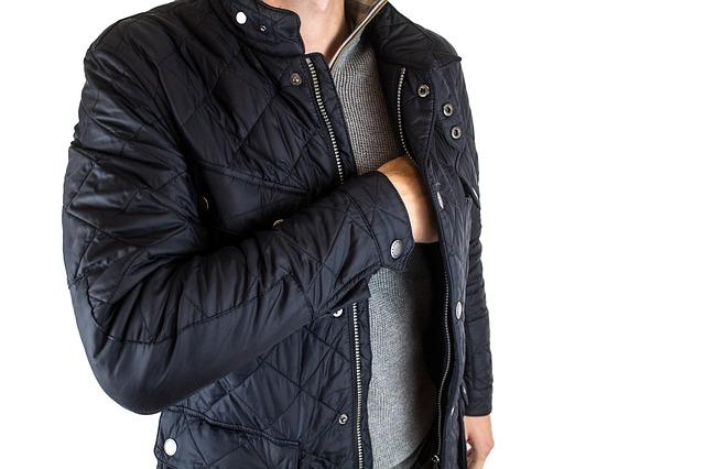 elegantní zimní bunda