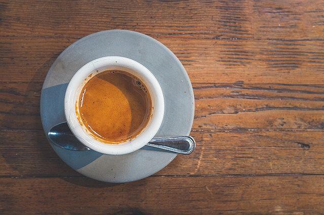 Správně vypadající espresso