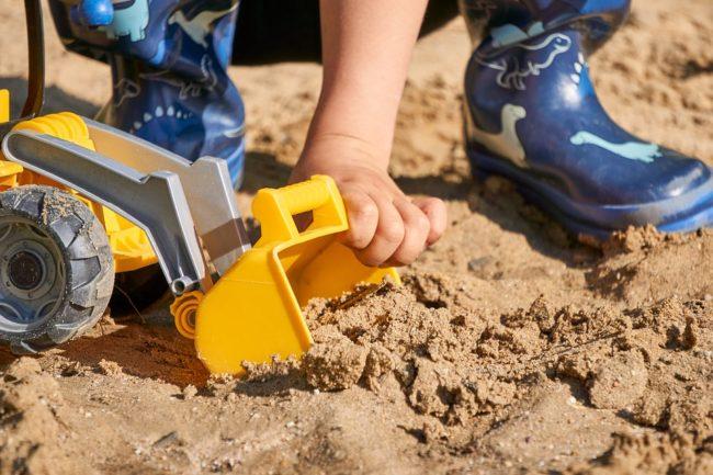 jak vybrat pískoviště