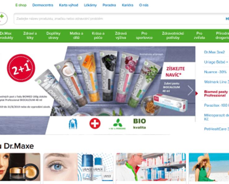Dr Max lékárna online