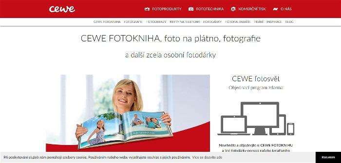 fotokniha Cewe - Fotolab