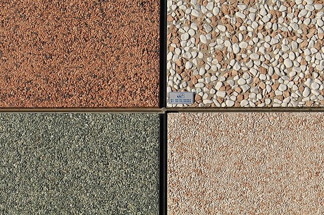 Kamenný koberec - ukázka