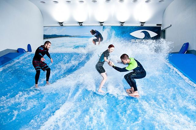 surf aréna Praha - Letňany
