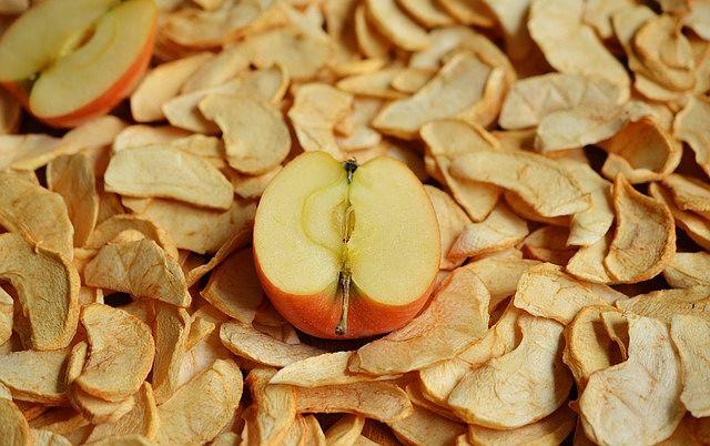 Sušené jablko - křížaly