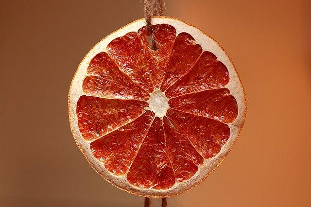 Sušený pomeranč