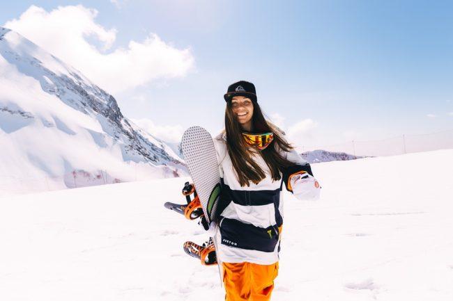 jak vybrat snowboard pro ženy