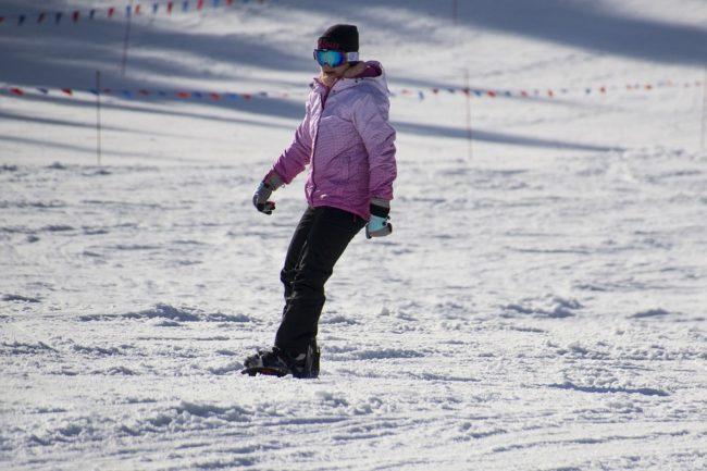 lyžařské rukavice snowboard