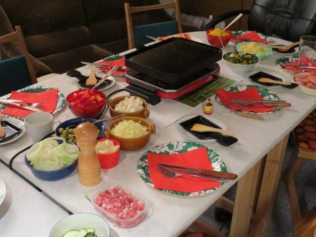 raclette grilování