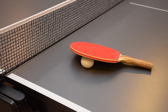 stolní tenis výbava