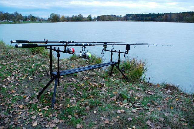 výbava pri rybaření