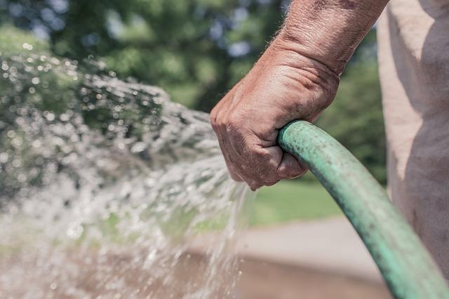 zalévaní zahrady