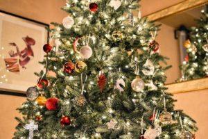 Vánoční stromeček ozdobený - inspirace