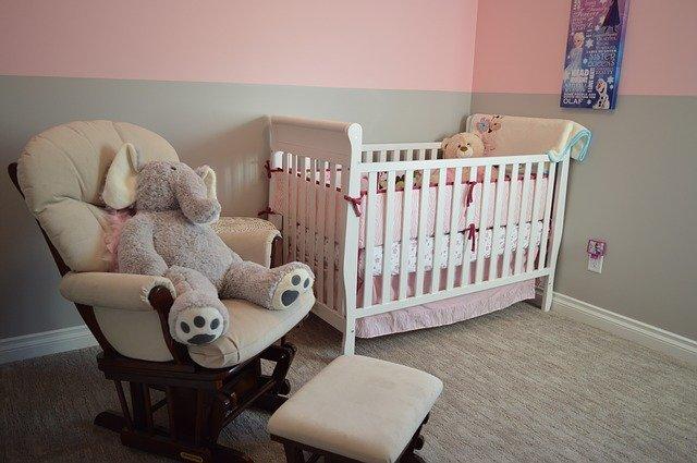 Vybavení pokojíčku pro miminko