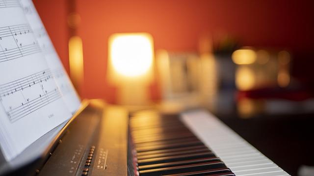 digitální piano zvuky