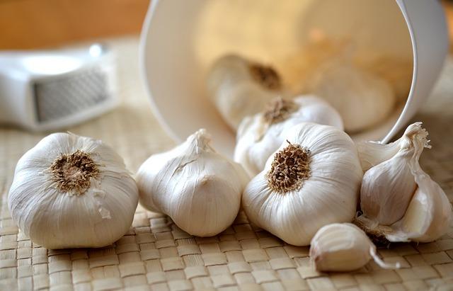 česnek v kuchyni využití